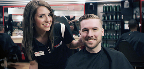 Sport Clips Haircuts of Saratoga Springs - Wilton Plaza  Haircuts
